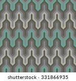 aztec style geometric seamless... | Shutterstock .eps vector #331866935
