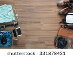 hipster clothes and accessories ... | Shutterstock . vector #331878431