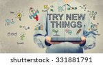 Try New Things Concept With...