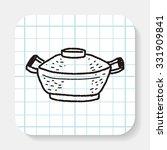 pan doodle | Shutterstock .eps vector #331909841