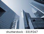 futuristic corporate office... | Shutterstock . vector #3319267