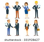 business vector people | Shutterstock .eps vector #331928627