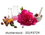 aromatherapy isolated | Shutterstock . vector #33193729