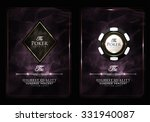 casino card design collection... | Shutterstock .eps vector #331940087