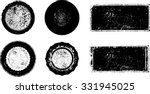 set of grunge rubber stamp .... | Shutterstock .eps vector #331945025