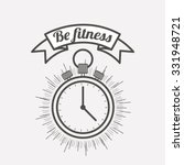 fitness lifestyle design ... | Shutterstock .eps vector #331948721
