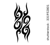 tattoo tribal vector design.... | Shutterstock .eps vector #331952801