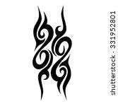 tattoo tribal vector designs.... | Shutterstock .eps vector #331952801