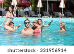 young people having fun in the... | Shutterstock . vector #331956914