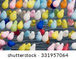 colored balloons | Shutterstock . vector #331957064