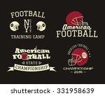 american football championship  ... | Shutterstock .eps vector #331958639