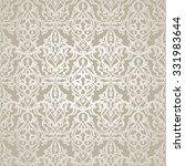 traditional damask seamless... | Shutterstock .eps vector #331983644