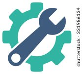 service tools vector icon.... | Shutterstock .eps vector #331986134