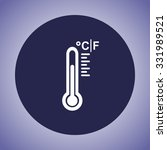 thermometer sign icon  vector... | Shutterstock .eps vector #331989521
