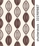 seamless cocoa dna helix pattern | Shutterstock .eps vector #331989887
