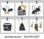 advent calendar.six days of...   Shutterstock .eps vector #331991507