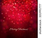 merry christmas festive... | Shutterstock .eps vector #331991777