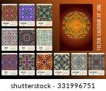 new year 2016  calendar design. ... | Shutterstock .eps vector #331996751