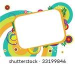 background artistic template | Shutterstock .eps vector #33199846