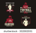 American Football Player  Team...