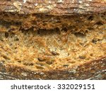 close up of ecological wheat... | Shutterstock . vector #332029151