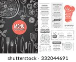 Vector Restaurant Brochure ...