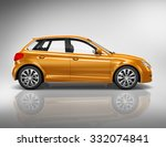 car vehicle transportation 3d... | Shutterstock . vector #332074841