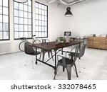 3d rendering of a modern... | Shutterstock . vector #332078465