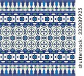 gorgeous seamless  pattern from ... | Shutterstock .eps vector #332089925