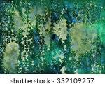 watercolor abstract grunge... | Shutterstock . vector #332109257