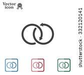 arrow vector icon | Shutterstock .eps vector #332120141