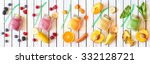 smoothie banner. healthy food... | Shutterstock . vector #332128721