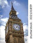 Close Up On Big Ben  The Clock...