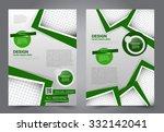 business flyer. brochure design....   Shutterstock .eps vector #332142041