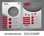 business flyer. brochure design.... | Shutterstock .eps vector #332142089