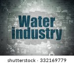 manufacuring concept  painted...   Shutterstock . vector #332169779