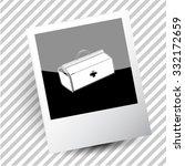 medical suitcase. photoframe....   Shutterstock .eps vector #332172659