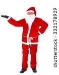 christmas santa claus portrait. ...   Shutterstock . vector #332178929
