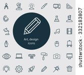design icons vector set.