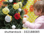 Baby Girl Decorates The...