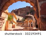 Interior Of Mehrangarh Fort ...