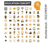 education  school  college ... | Shutterstock .eps vector #332198549