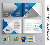 business brochure template... | Shutterstock .eps vector #332201891
