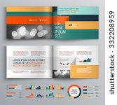 business brochure template... | Shutterstock .eps vector #332208959