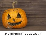 Rotten Pumpkins On Halloween...