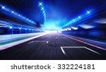 racecourse finish straight road ... | Shutterstock . vector #332224181
