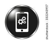 mobile phone settings   vector...