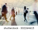 hong kong business people... | Shutterstock . vector #332264615