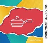 pot line icon | Shutterstock .eps vector #332279705