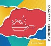 pot line icon | Shutterstock .eps vector #332279909